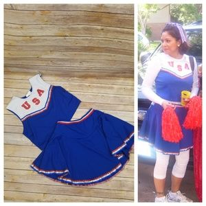 Halloween🎃 costume USA Cheerleader
